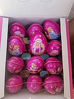 Яйцо шоколадное пластиковое Magic Girl(24шт)