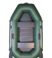 Лодка Омега Ω 220 – надувная гребная полтораместная лодка из ПВХ ткани