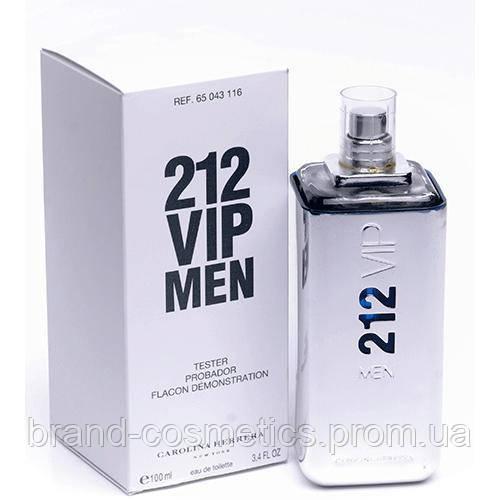 Carolina Herrera 212 VIP Men 100 мл TESTER мужской