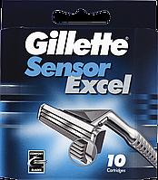 Сменные картриджи для бритья Gillette Sensor Excel (10 шт)