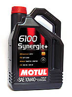 Motul 6100 Synergie+ 10W-40 моторное масло полусинтетика - 4 литра