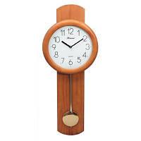 Часы настенные из дерева с маятником Kronos SC-510D, 74см