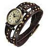 Винтажные часы браслет JQ brown ретро