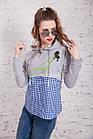 Женская кофта-блузка хулиганка весна 2018 - Артикул кф-53б, фото 5