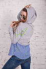 Женская кофта-блузка хулиганка весна 2018 - Артикул кф-53б, фото 6