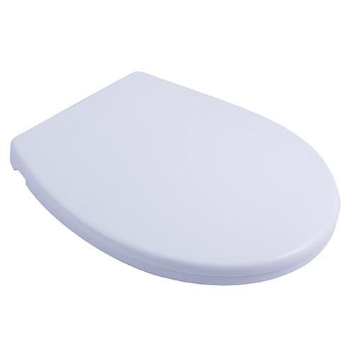 Крышка для унитаза с детским сиденьем с микролифтом белая