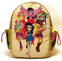Детский рюкзак Пони компания, фото 1