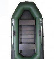 Лодка Омега Ω 250 – надувная гребная двухместная лодка из ПВХ ткани