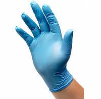 Перчатки нитриловые Престиж Медикал (синие), пара/ 50