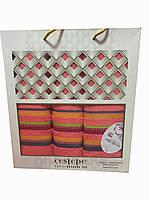 """Набор полотенец в подарочной упаковке тм """" Gestepe Vip Cotton"""""""