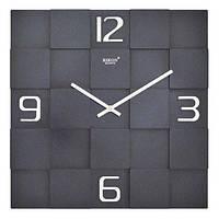 Стильные настенные часы Rikon 10051 Black