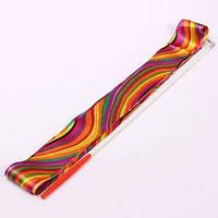 Палочка гимнастическая с лентой 4м