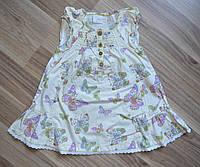 Платье лето! сарафан. принт - бабочки