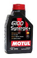 Motul 6100 Synergie+ 10W-40 моторное масло полусинтетика - 1 литр