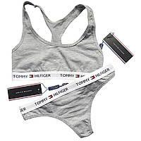 Женский комплект Tommy Hilfiger серый