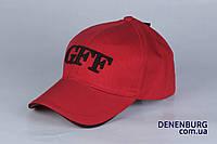 Детская бейсболка GFF красная