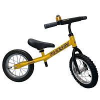 Детский беговел Raceway Oscar, 12 дюймов желтый