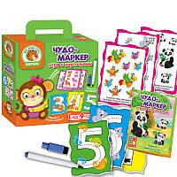 Игра с карточками «Чудо-маркер. Зоопарк» VT2100-11 (рус) Vladi Toys