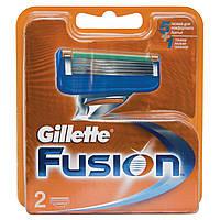 Сменные картриджи для бритья Gillette Fusion (2 шт)