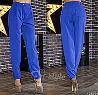 Ультрамодные брюки-галифе с завышенной посадкой