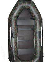 Лодка Омега Ω 280 – надувная гребная трехместная лодка из ПВХ ткани