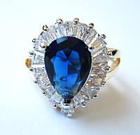 Перстень Королевы танзанит, размер  16, 17, 18, 19