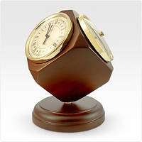 Сувенирные настольные часы с барометром и термометром JIBО PW980-0209-1