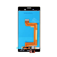 Дисплей Sony E2303/E2312/E2333/E2363 Xperia M4 Aqua, з сенсором (Чорний)