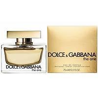 Женская пафюмерия Dolce & Gabbana The One (Дольче Габанна Зе Уан) EDP 75 ml
