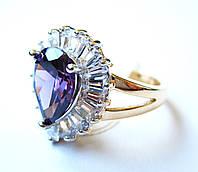 Перстень Королевы чароит, размер  16, 17, 18, 19