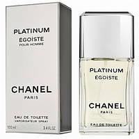 Мужская парфюмерия Chanel Egoiste Platinum (Шанель Эгоист Платинум) EDT 100 ml