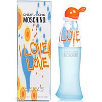 Женская парфюмерия Moschino Cheap&Chic I Love Love (Москино Чип энд Чик ай Лав Лав) EDT 100 ml