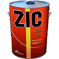 Трансмиссионное масло ZIC ATF-3 20л.(Ю.Корея).