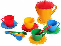 Детская посудка Ромашка Люкс (15 элементов) Тигрес