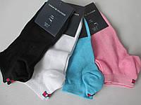 Летние короткие носки из тонкого трикотажа.