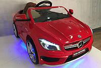 Детский электромобиль Mercedes CLA 45 AMG, красный