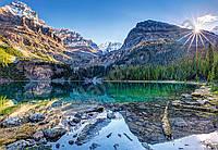 """Пазлы """"Озеро и горы"""" 1000 Castorland, С-103638"""