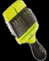 Пуходерка Furminator Small Slicker Brush S для собак двухсторонняя жесткая, фото 1