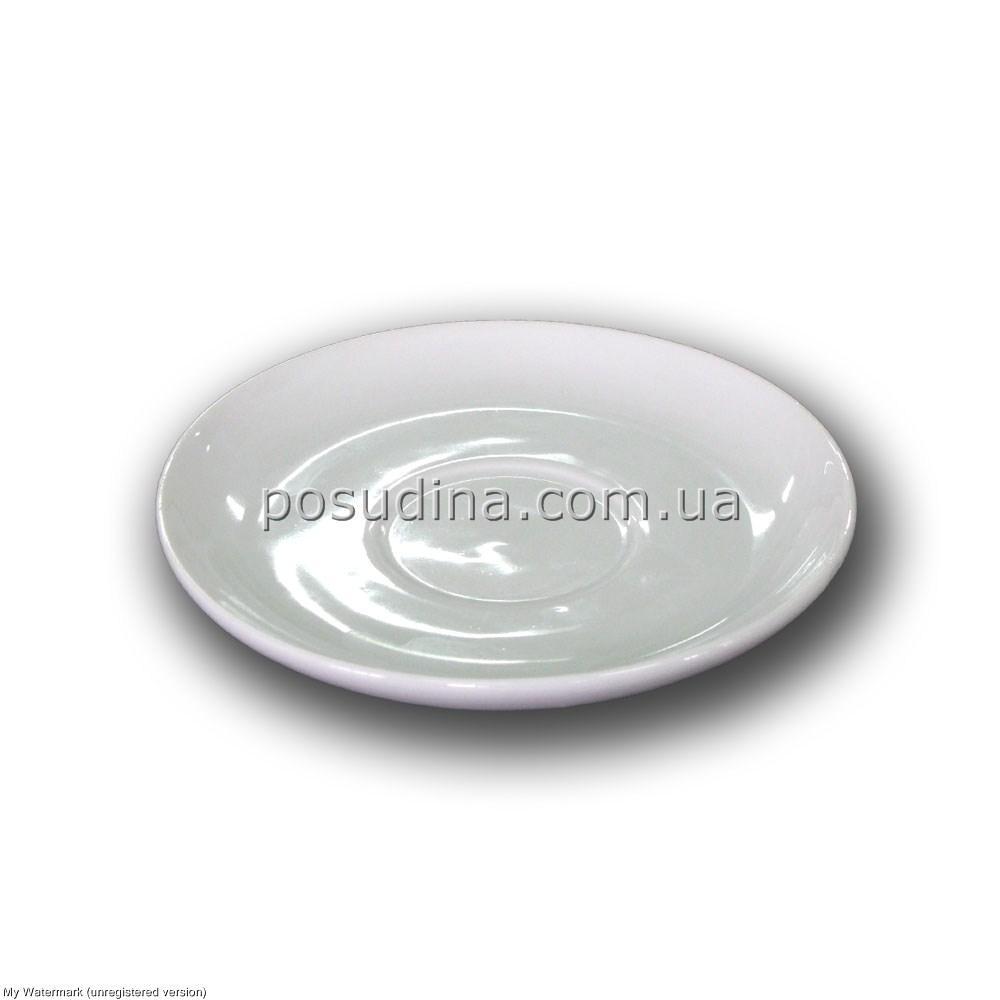Блюдце фарфоровое Siesta к чашке капучино