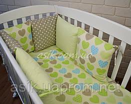 Набор детской постели с модульной охранкой №16