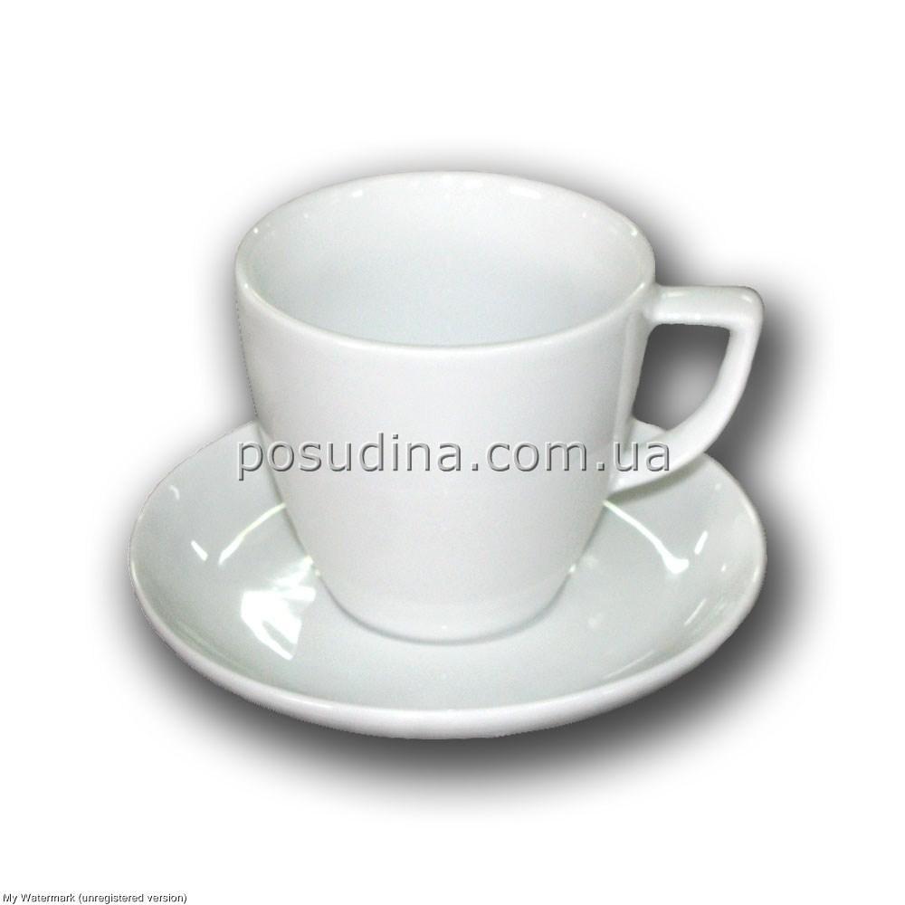 Чашка с блюдцем Siesta капучино