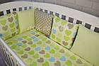 Набор детской постели с модульной охранкой №16, фото 2