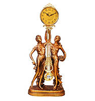 """Часы с маятником каминные """"Музы"""" Jibo 101A, 78см"""