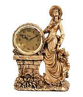 Настольные часы Jibo 5216 A, 30см - подарок для девушки