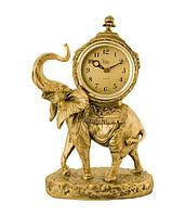"""Часы настольные """"Слон"""" Jibo 526 A, 32см - символ удачи и богатства"""