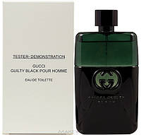 Gucci Guilty Black pour Homme 90 ml (тестер без крышки)