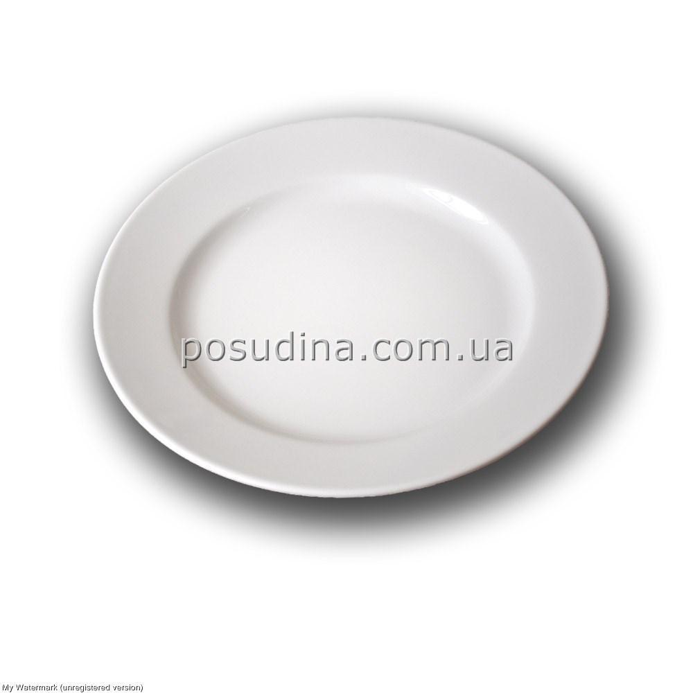 Тарелка фарфоровая Farn мелкая 245мм.
