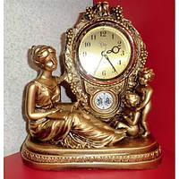 Каминные часы Мама и дети Jibo 501