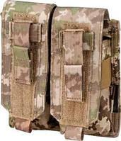 Подсумок Defcon 5 PORTA CARICATORE DOPPIO MOLLE M4/AK DOUBLE MULTILAND ц:мультилэнд