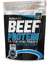 Beef Protein BioTech USA 500 г, strawberry/клубника
